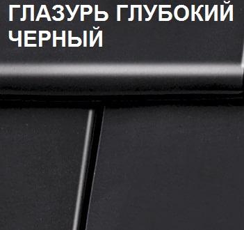 Турмалин глубокий черный