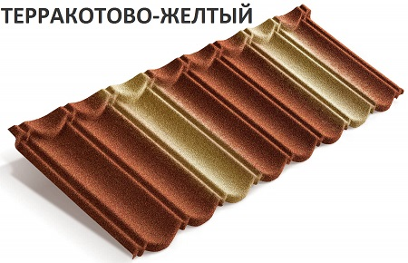 Metrobond терракотово-желный