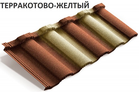 Metroroman терракотово-желтый