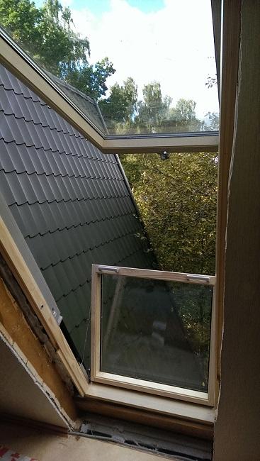 Монтаж окно-балкон