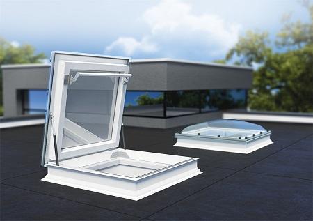 Окно-люк для плоских крыш Fakro