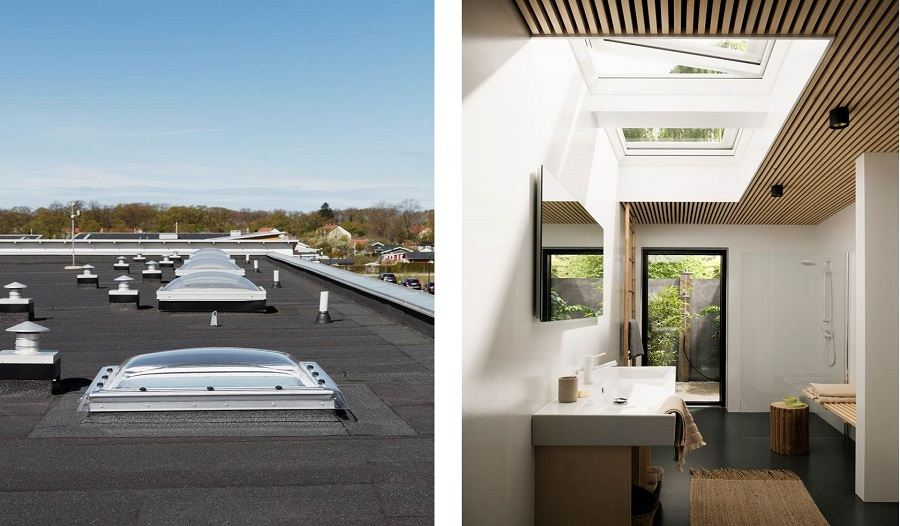 Окна для плоских крыш