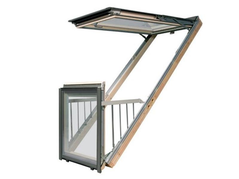 Окно-балкон Fakro