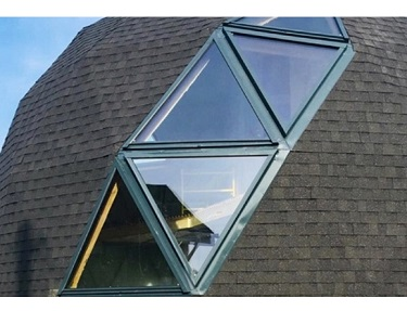 Окна для купольных домов werso